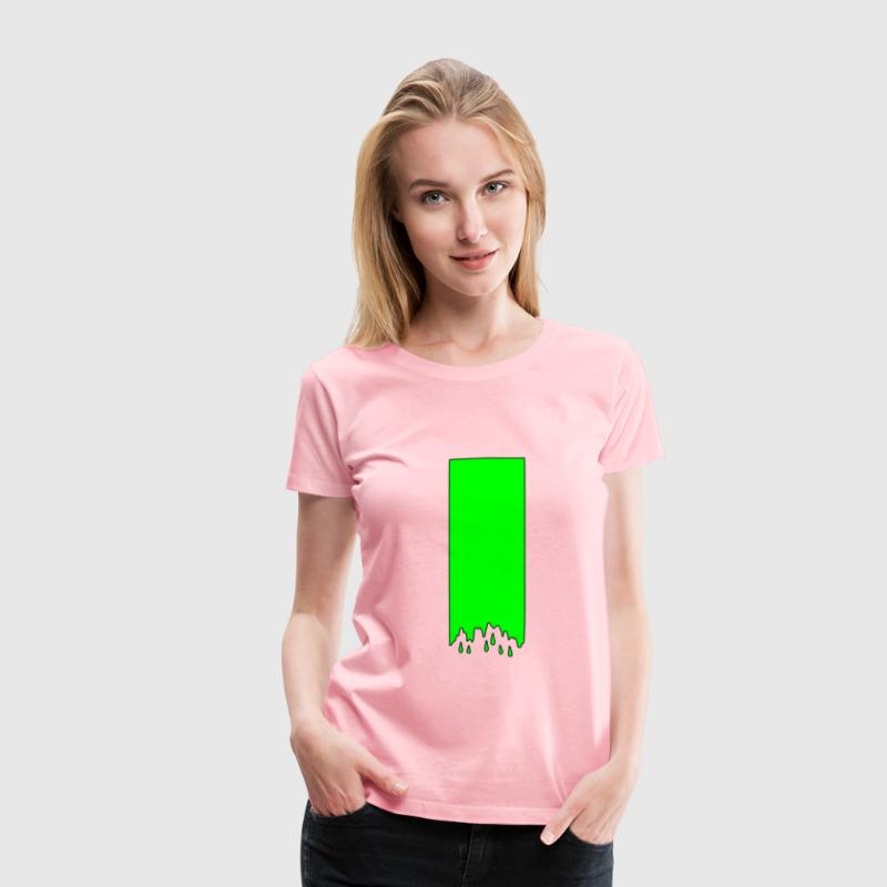 Dripping Slime - Women's Premium T-Shirt