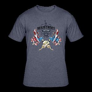 Resistance Tattoo - Men's 50/50 T-Shirt
