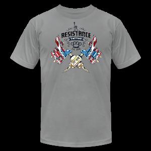 Resistance Tattoo - Men's Fine Jersey T-Shirt
