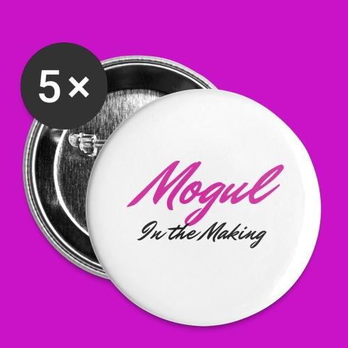 Mogul Mug - Buttons small 1'' (5-pack)