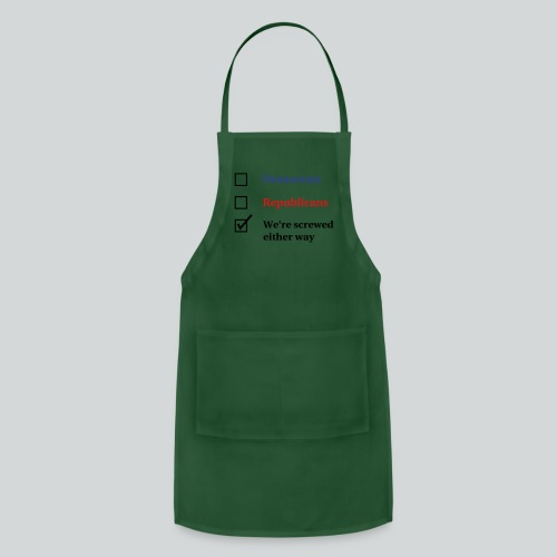 Election Ballot - We're Screwed - Adjustable Apron