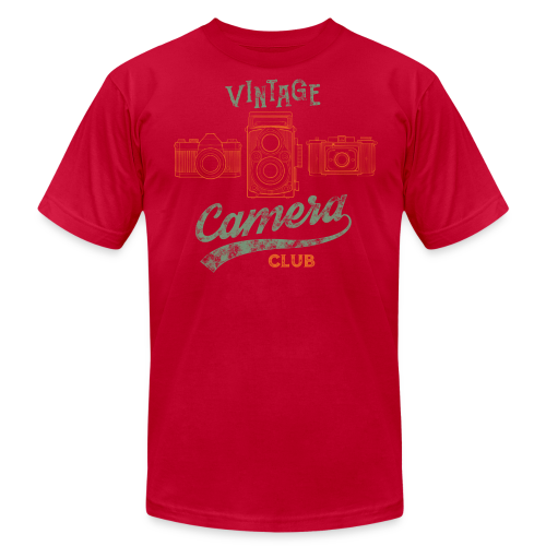 Vintage Camera Club - Men's Fine Jersey T-Shirt