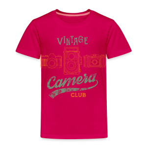 Vintage Camera Club - Toddler Premium T-Shirt
