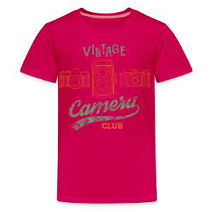 Vintage Camera Club - Kids' Premium T-Shirt