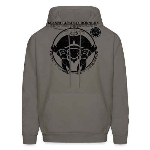 Mr. Shell and Old Ronald's Old Fashioned Seafood Restaurant - Men's Hoodie
