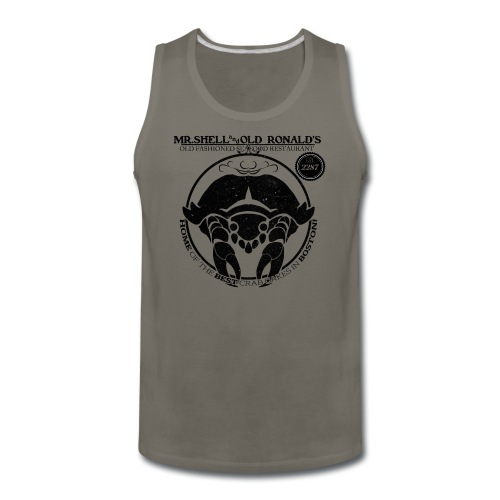 Mr. Shell and Old Ronald's Old Fashioned Seafood Restaurant - Men's Premium Tank