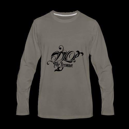 DLO Stamp Mens Crewneck sweater - Men's Premium Long Sleeve T-Shirt