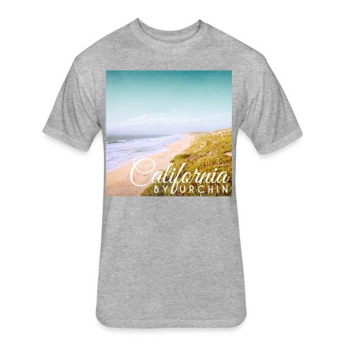 California by Urchin - Fitted Cotton/Poly T-Shirt by Next Level