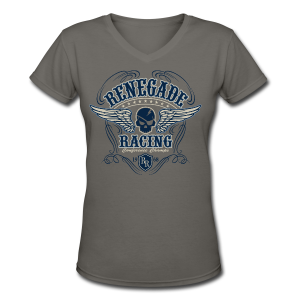 Renegade Racing - Women's V-Neck T-Shirt