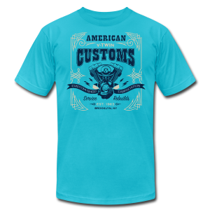 V-Twin Customs - Men's Fine Jersey T-Shirt