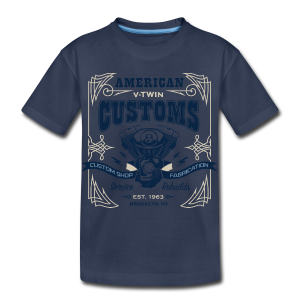V-Twin Customs - Toddler Premium T-Shirt