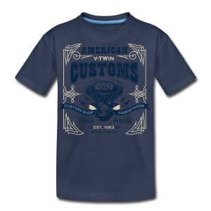 V-Twin Customs - Kids' Premium T-Shirt