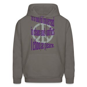 I Choose Peace - Men's Hoodie