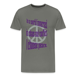 I Choose Peace - Men's Premium T-Shirt