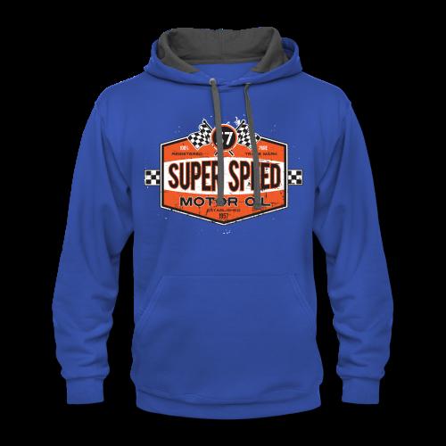 Super_Speed_Oil - Contrast Hoodie