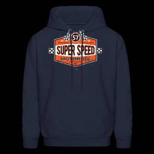 Super_Speed_Oil - Men's Hoodie