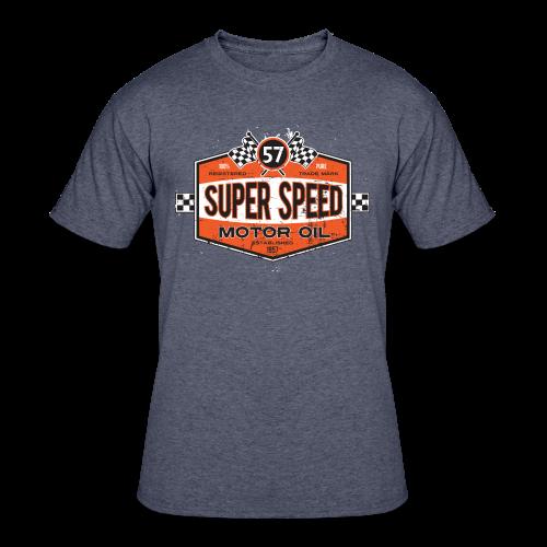 Super_Speed_Oil - Men's 50/50 T-Shirt