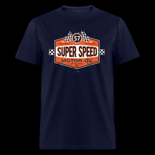 Super_Speed_Oil - Men's T-Shirt