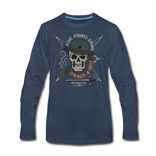 Five_Points_Gang - Men's Premium Long Sleeve T-Shirt
