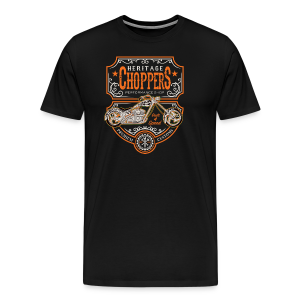 Heritage Choppers - Men's Premium T-Shirt