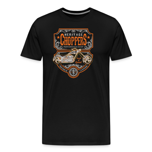 Heritage Choppers - Men's Premium T-Shirt