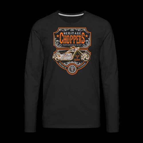 Heritage Choppers - Men's Premium Long Sleeve T-Shirt