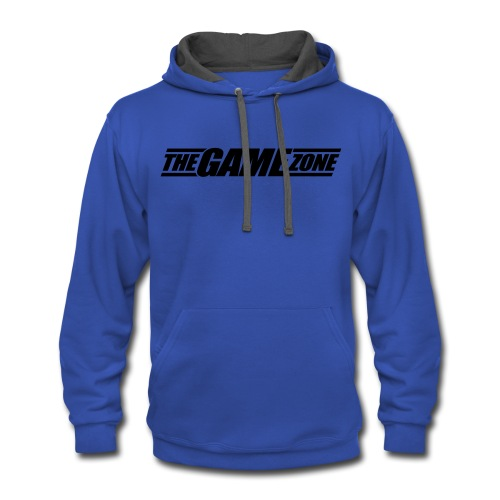 The Game Zone Customizable - Contrast Hoodie
