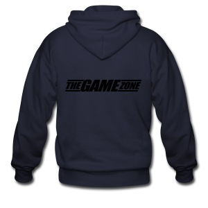The Game Zone Customizable - Men's Zip Hoodie
