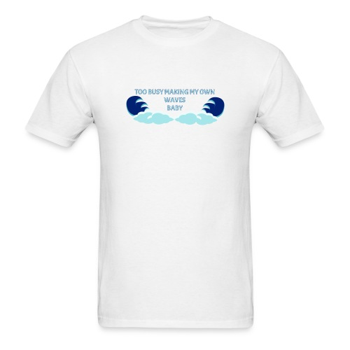 Waves Base Ball Tee - Men's T-Shirt