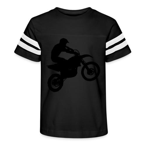 Dirt Bike Motocross Rider - Kid's Vintage Sport T-Shirt