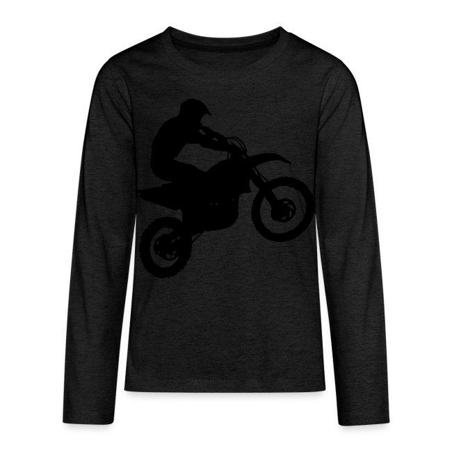 Dirt Bike Motocross Rider