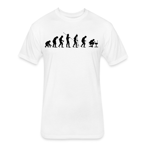 Gamer Evolution - Fitted Cotton/Poly T-Shirt by Next Level
