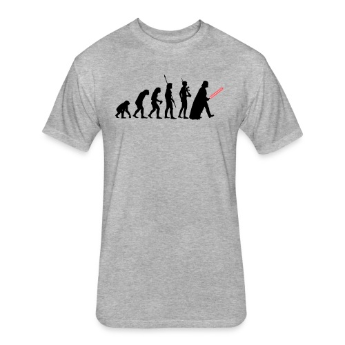 Darth Vader Evolution - Fitted Cotton/Poly T-Shirt by Next Level