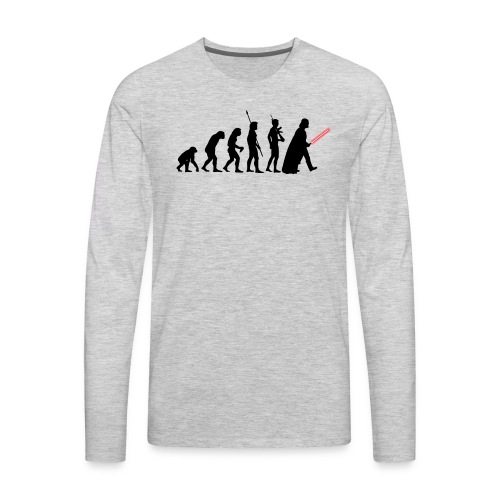 Darth Vader Evolution - Men's Premium Long Sleeve T-Shirt