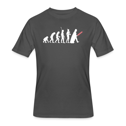 Darth Vader Evolution - Men's 50/50 T-Shirt