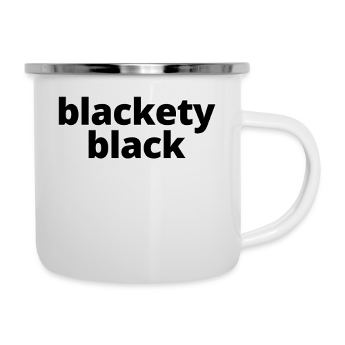 Women's Blackety Black T-Shirt - Camper Mug