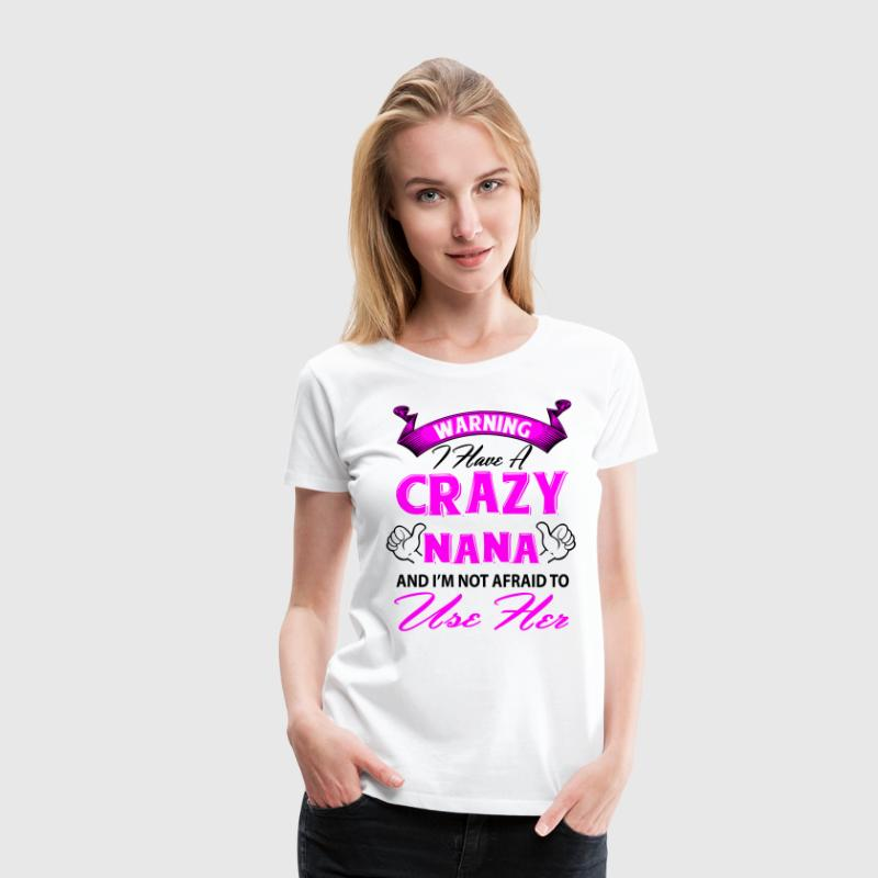 Warning I have a crazy aunt and I'm not afraid to T-Shirts - Women's Premium T-Shirt