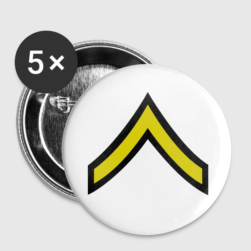 army military button rank PRIVATE - Small Buttons