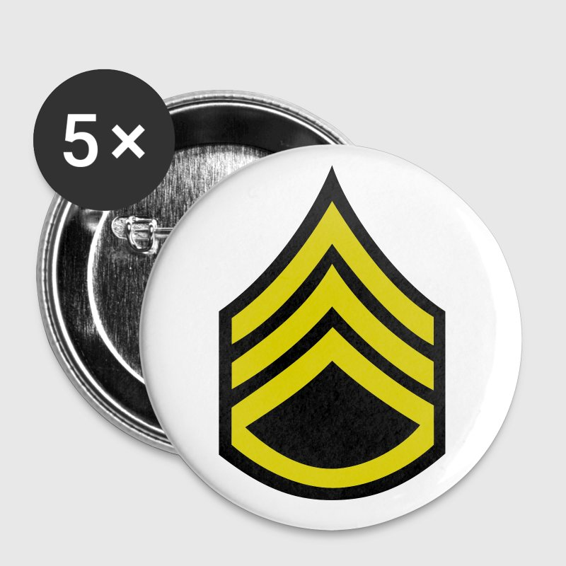 army military button rank STAFF SERGEANT - Small Buttons