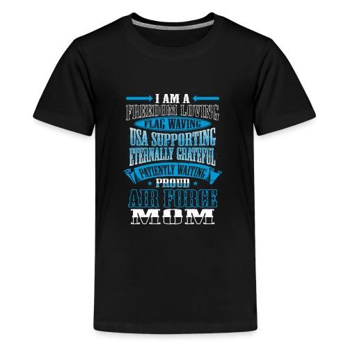 Proud Air Force Mom  - Kids' Premium T-Shirt