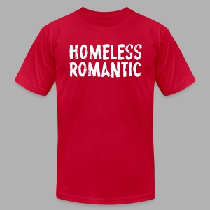 Homeless Romantic - Men's T-Shirt by American Apparel
