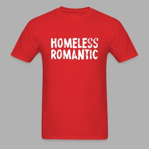 Homeless Romantic - Men's T-Shirt