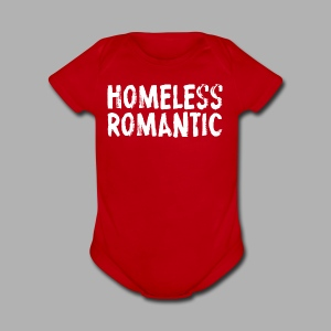 Homeless Romantic - Short Sleeve Baby Bodysuit
