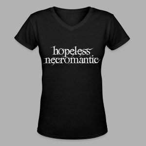Hopeless Necromantic - Women's V-Neck T-Shirt
