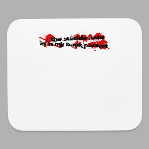 Suicide Note - Mouse pad Horizontal