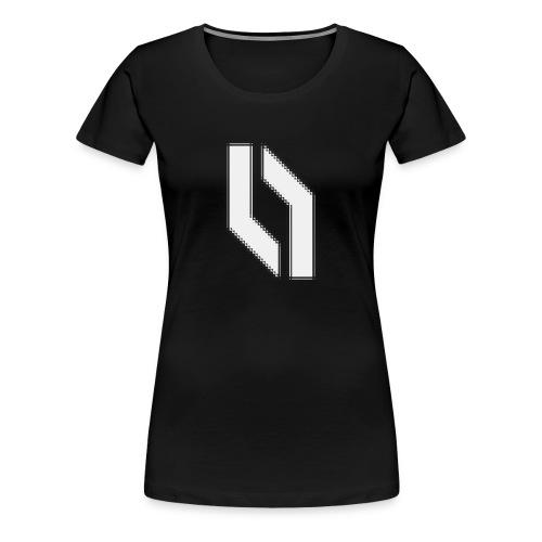 Women's Jagged Logo - Women's Premium T-Shirt