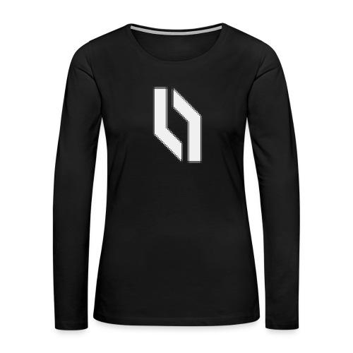 Women's Jagged Logo - Women's Premium Long Sleeve T-Shirt