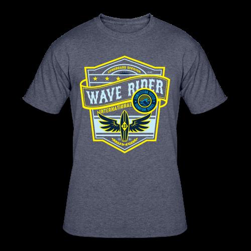 Wave Rider - Men's 50/50 T-Shirt