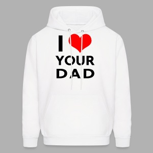 I heart your dad - Men's Hoodie