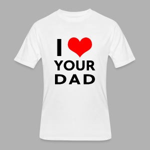 I heart your dad - Men's 50/50 T-Shirt